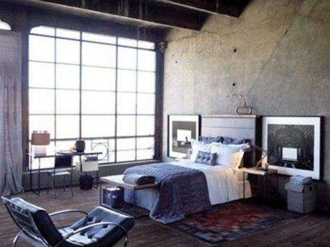 Bold Industrial Bedroom Design Ideas Rilane