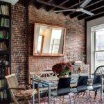 Bold Inventive Dining Rooms Brick Walls