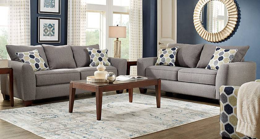 Bonita Springs Gray Living Room Sets