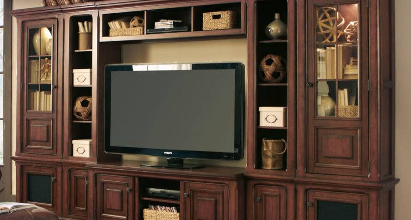 Bookcase Divider Wall Entertainment Units Large