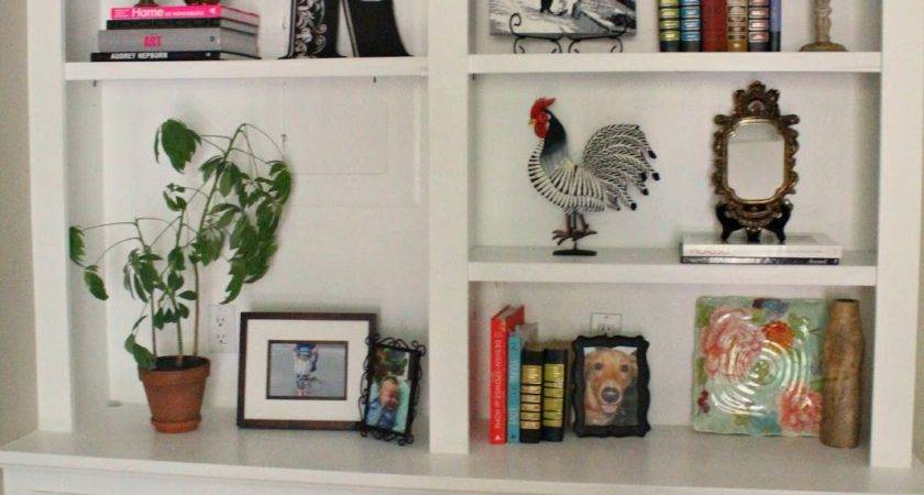 Bookshelf Decor Flat Decoration