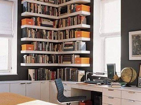 Bookshelf Ideas Small Spaces Home Constructions