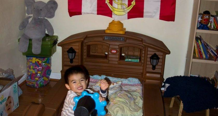 Boys Toddler Boat Bed Very Fun