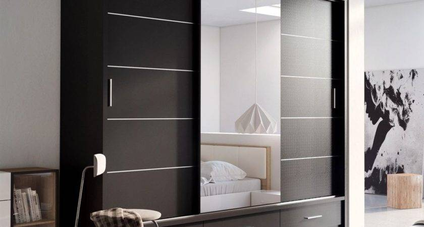 Brand New Modern Bedroom Sliding Door Wardrobe Arti