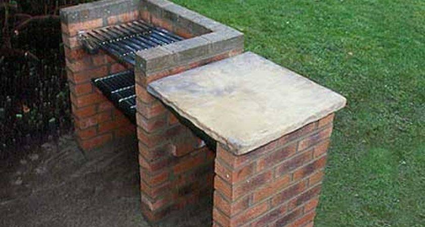Brick Edging Bbq Landscape Gardening Job