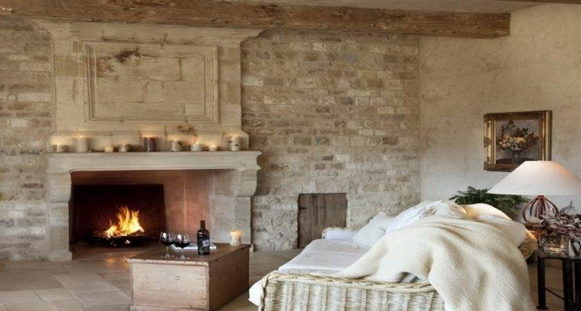 Brick Wall Fireplace Living Rooms