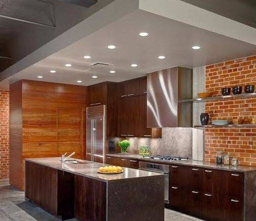 Bricks Interior Kitchen Home Christmas