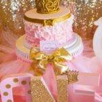 Bridal Shower Pink Gold Birthday Party Ideas