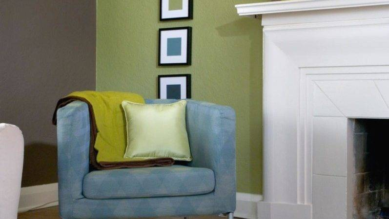 Bright Color Combination Living Room
