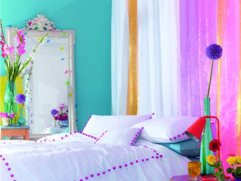 Bright Colored Bedroom Photos