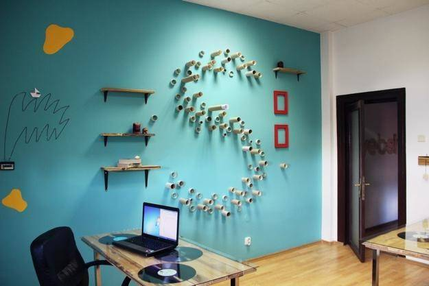 Bright Colors Creative Wall Decorations Modern