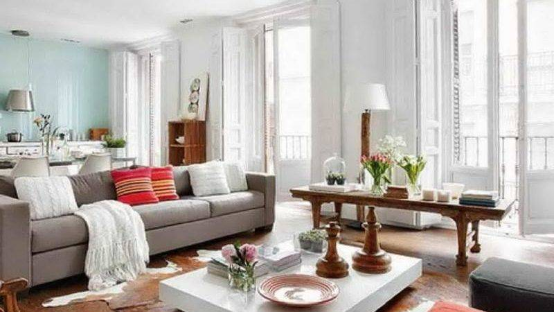 Bright Paint Colors Living Room Shabby Chic Home