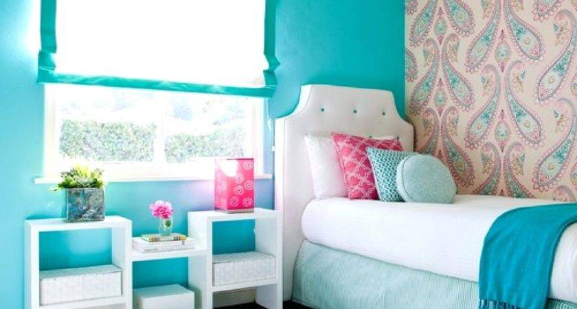 Bright Purple Paint Colors Girl Teenage Bedroom Colour