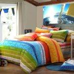 Bright Striped Bedding Sets Collections