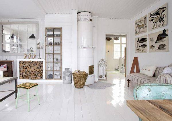Brightening Your Home Painted Wood Floors