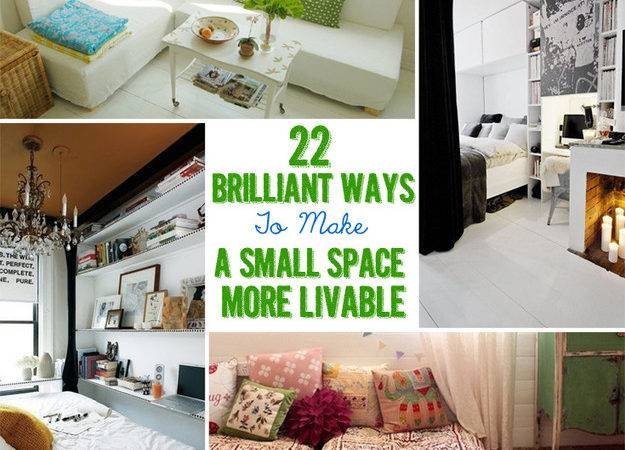 Brilliant Ideas Your Tiny Apartment