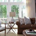 Brown Couch Gray Walls Houzz