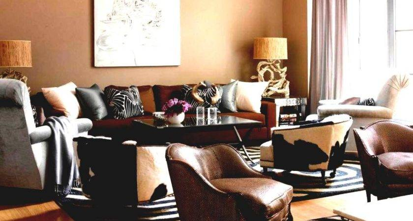 Brown Couch Living Room Paint Color Ideas Furniture