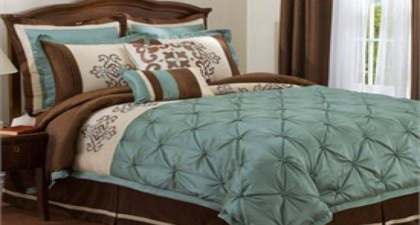 Brown Green Bedding Turquoise