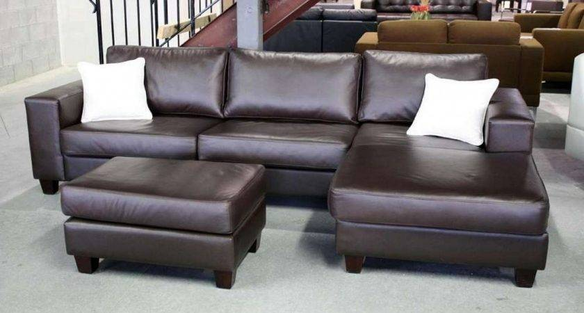 Brown Leather Sofa Sectional Menzilperde