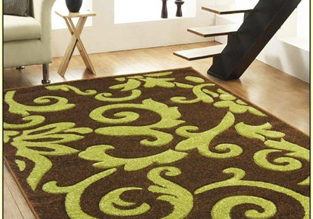 Brown Lime Green Area Rugs Home Design Ideas
