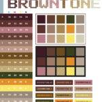 Brown Tone Color Schemes Combinations Palettes