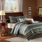 Brown Turquoise Bedding Decorate House