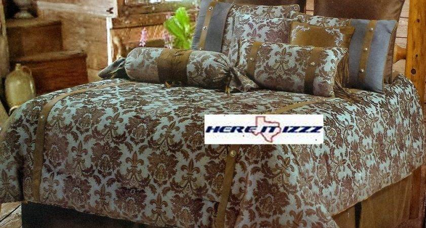Brown Turquoise Bedding Delectably Yours Bianca