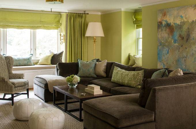 Brown Turquoise Living Room Design Ideas