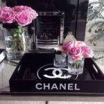 Buckets Candle Chanel Decor Idea Decoration Flowers