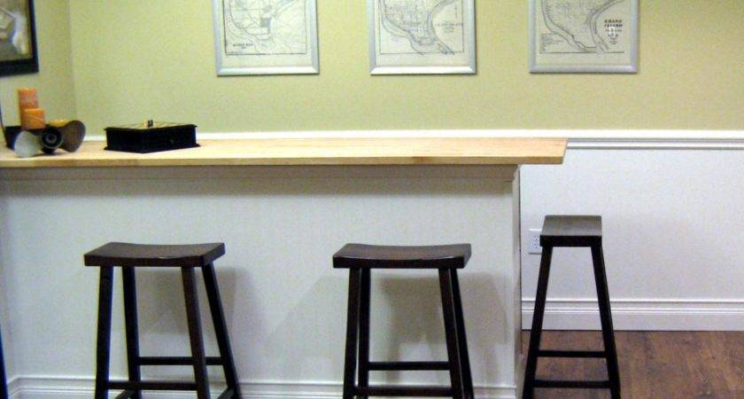 Build Bar Butcher Block Countertop Hgtv