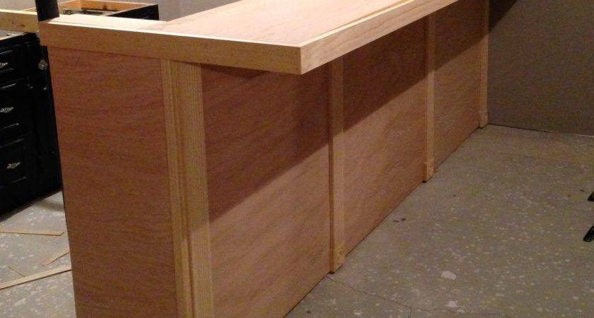 Build Bar Countertop