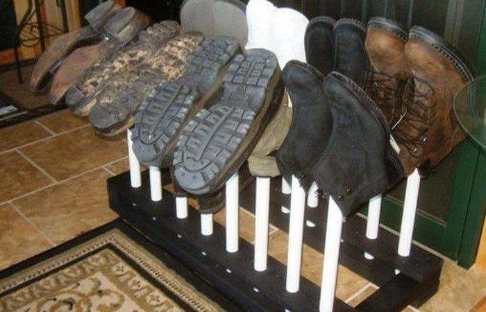 Build Boot Rack Diy Projects Everyone