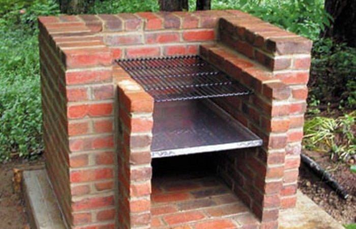 Build Brick Barbecue Your Backyard Home
