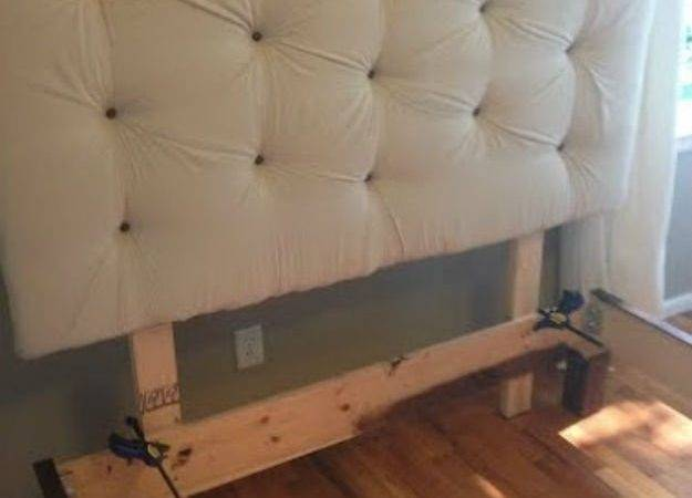 Build Headboard Bed Frame Diy Projects Craft