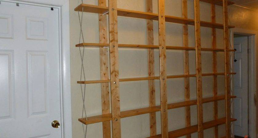Build Shelving Your Garage Exclusive Home Design