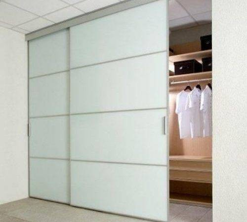 Build Sliding Wardrobe Doors Pertaining House