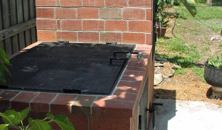 Build Your Own Brick Bbq Smoker Fire Pit Design Ideas