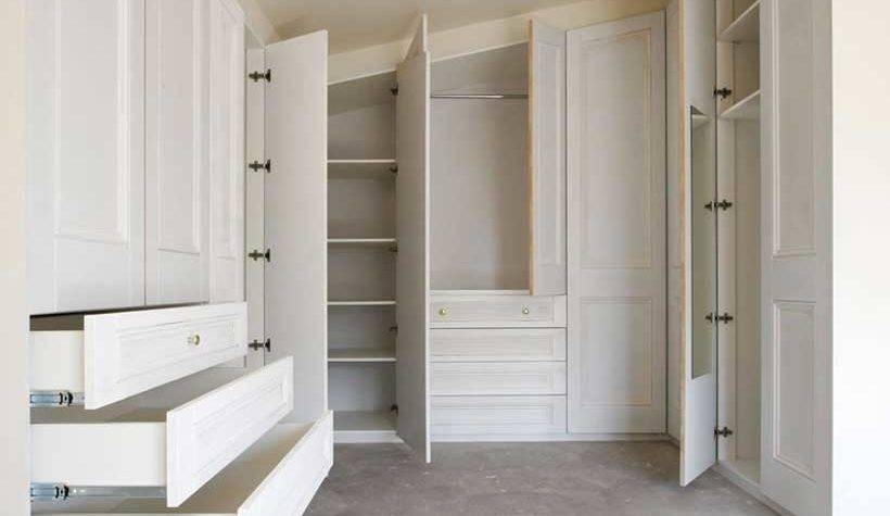 Build Your Own Fitted Wardrobe Interior