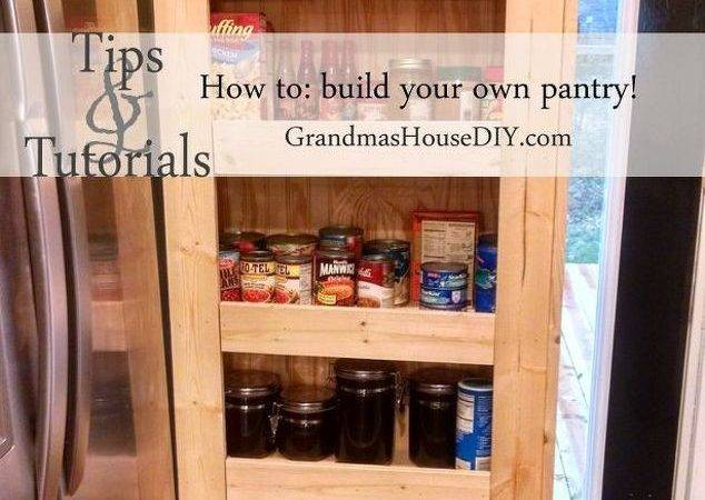 Build Your Own Rolling Pantry Hometalk