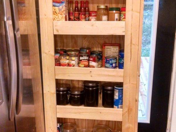 Build Your Own Rolling Pantry Incredible Easy