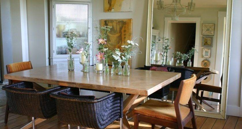 Built Corner Dining Table Room Traditional