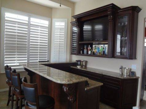 Built Home Bar Cabinets Las Vegas