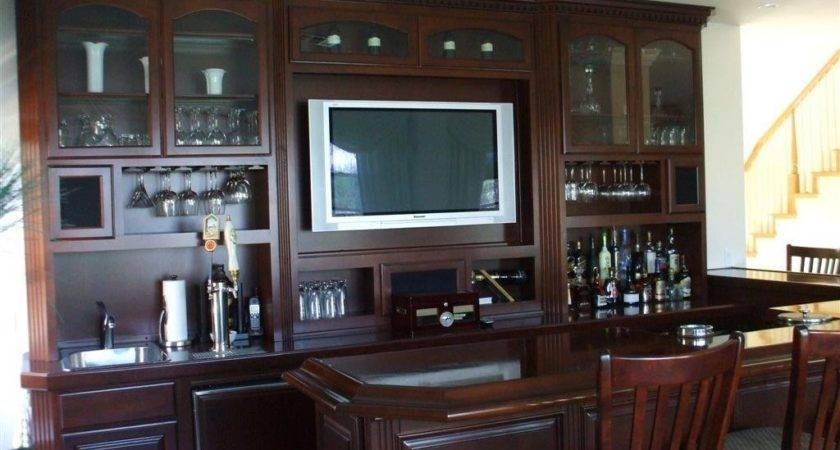 Built Home Bar Cabinets Woodwork Creations