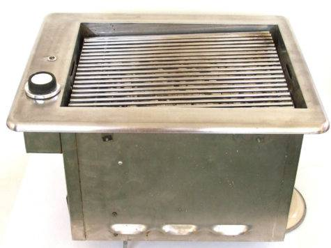 Built Indoor Electric Grill Stanthony Mid Century Modern