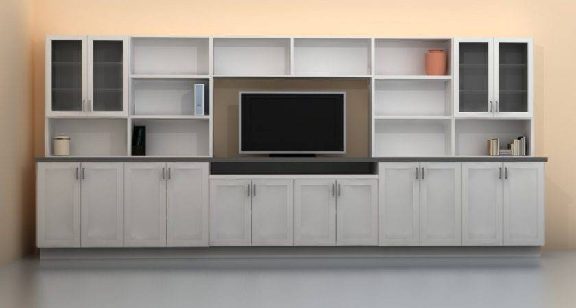 Built Storage Units Living Room Ins