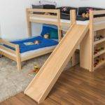 Bunk Bed Children Phillip Solid Beech Wood
