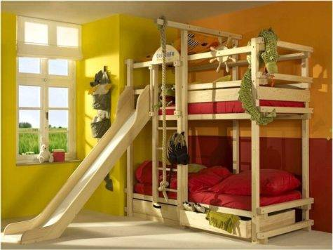Bunk Bed Slides Home Design Remodeling Ideas