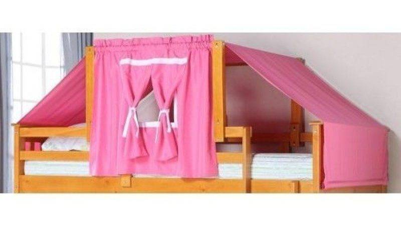 Bunk Bed Tent Kit Pink