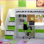 Bunk Beds Desk Storage Whitevan